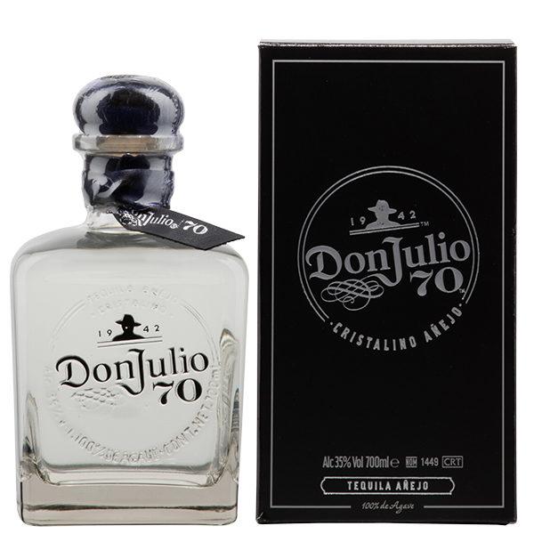 Don-Julio-Tequila-Añejo-Cristalino-70th-Anniversary-70cl